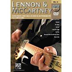 Lennon & McCartney - Guitar Play-Along DVD Vol 12
