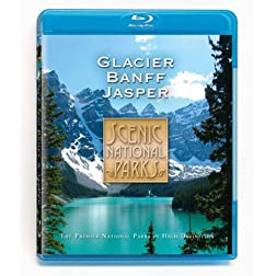 Scenic National Parks: Glacier Banff & Jasper [Blu-ray]