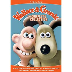Wallace & Gromit: The Complete Collection (4 Disc Set)