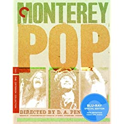 Monterey Pop- Criterion Collection [Blu-ray] (Single Disc)