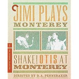 Jimi Plays Monterey & Shake! Otis At Monterey- Criterion Collection [Blu-ray]