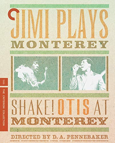Jimi Plays Monterey & Shake! Otis At Monterey- Criterion Collection [Blu-ray]