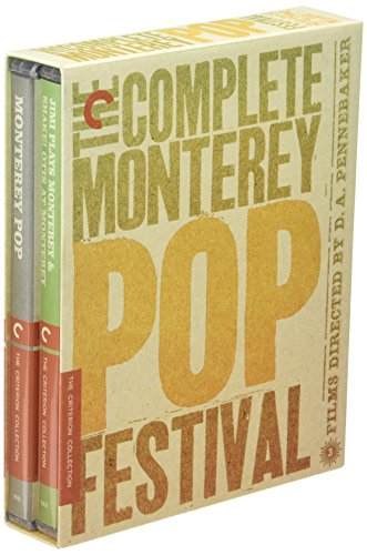 The Complete Monterey Pop Festival- Criterion Collection [Blu-ray]