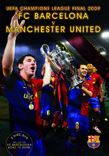 FC Barcelona 2009 Champion of Champions 2 Disc DVD