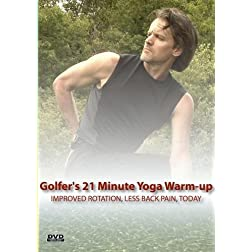 The Golfer's 21 Minute Yoga Warm-up