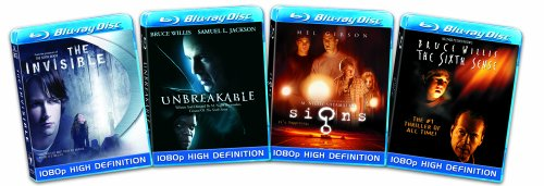 Blu-ray 4-Pack: Thrillers (The Invisible / The Sixth Sense / Signs / Unbreakable) [Blu-ray]