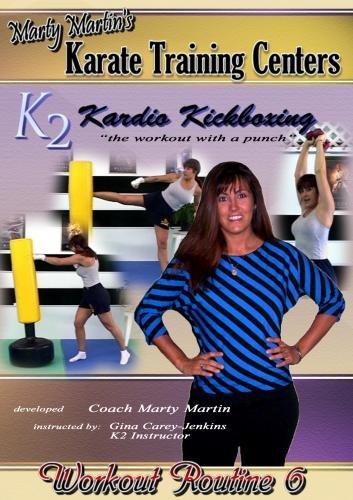 Marty Martin K2 Kardio Kickboxing Workout #6