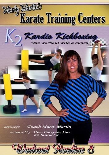 Marty Martin K2 Kardio Kickboxing Workout #8