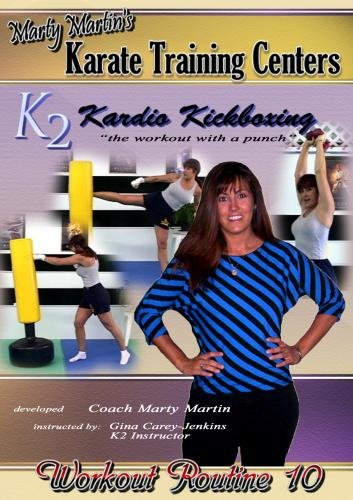 Marty Martin K2 Kardio Kickboxing Workout #10