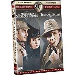 Sherlock Holmes Double Feature: The Adventures of Sherlock Holmes/The Scarlet Claw