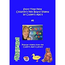 Story Time Felts Children's Felt Board Videos by Cullen's Abc's