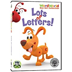 WordWorld: Lots of Letters Box Set