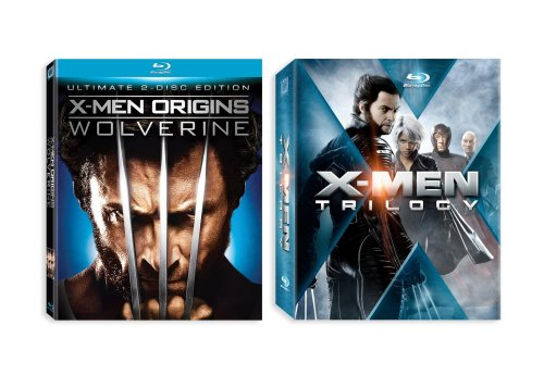 X-Men Trilogy + X-Men Origins: Wolverine [Blu-ray]