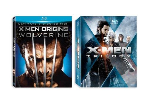 X-Men Trilogy + X-Men Origins: Wolverine [Blu-ray]
