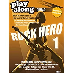 Playalong DVD - Learn to Play Rock Hero 1