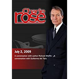 Charlie Rose - Richard Wolffe / Guillermo del Toro(July 2, 2009)