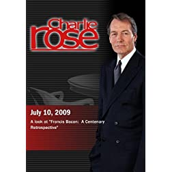 "Charlie Rose - A look at ""Francis Bacon:  A Centenary Retrospective""  (July 10, 2009)"