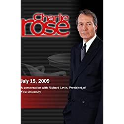 Charlie Rose - Richard Levin (July 15, 2009)