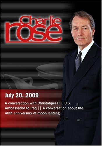 Charlie Rose - Chris Hill / 40th anniversary of moon landing(July 20, 2009)
