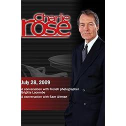 Charlie Rose - Brigitte Lacombe / RoSam Altman (July 28, 2009)