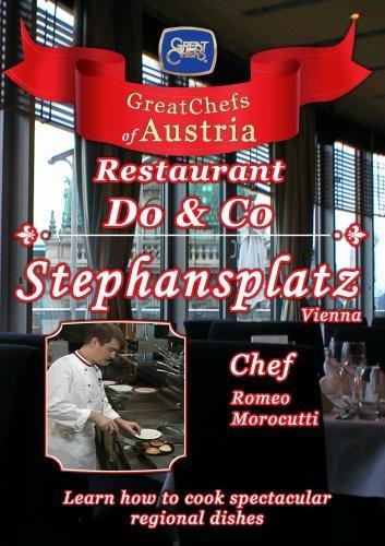 Great Chefs of Austria Chef Romeo Morocutti Do & Co Stephansplatz - Vienna
