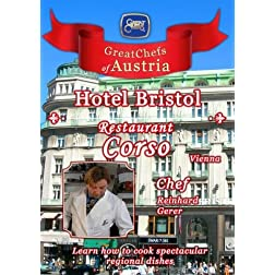 Great Chefs of Austria Chef Reinhard Gerer Hotel Bristol Korso - Vienna