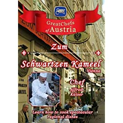 Great Chefs of Austria Chef Alfred Kaiser Zum Schwartzen Kameel Vienna