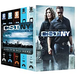 CSI NY: Seasons 1-5