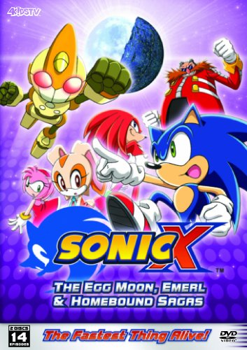 Sonic X: The Egg Moon, Emerl & Homebound Sagas