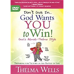 Don't Give In--God Wants You to Win DVD