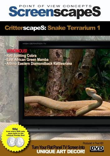 ScreenscapeS: CritterscapeS: Venomous Snake Terrarium 1