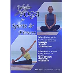 Sybel's Yoga For Sports & Fitness Vol 1 & 2