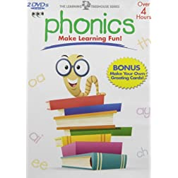 Learning Treehouse: Phonics, Vols. 1-4