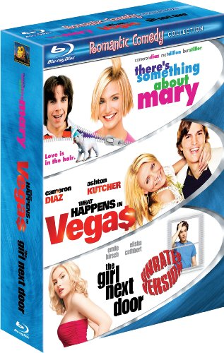 Romantic Comedy 3-Pack (There's Something About Mary / What Happens in Vegas / The Girl Next Door) [Blu-ray]