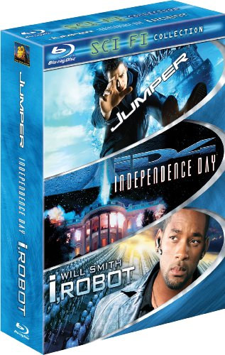 Sci-Fi 3-Pack (Jumper / Independence Day / I, Robot) [Blu-ray]