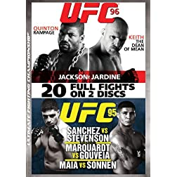 UFC 95: Sanchez vs. Stevenson/UFC 96: Jackson vs. Jardine