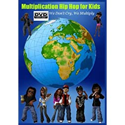 Multiplication Hip Hop for Kids - We Don't Cry, We Multiply (DVD)