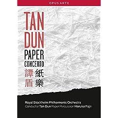 Tan Dun/Royal Stockholm Philharmonic Orchestra: Paper Concerto