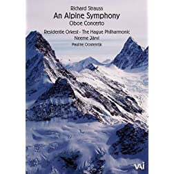 Richard Strauss: Alpine Symphony - Neeme Jarvi, Hague Philharmonic