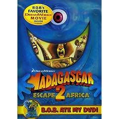 MADAGASCAR: ESCAPE 2 AFRICA (B.O.B. ATE MY DVD) - MADAGASCAR: ESCAPE 2 AFRICA (B.O.B. ATE MY DVD)