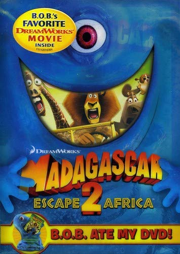 MADAGASCAR: ESCAPE 2 AFRICA (B.O.B. ATE MY DVD) - MADAGASCAR: ESCAPE 2 AFRICA (B.O.B. ATE MY DVD)