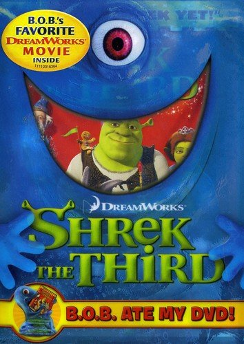 SHREK THE THIRD (B.O.B. ATE MY DVD) / (WS DUB SUB) - SHREK THE THIRD (B.O.B. ATE MY DVD) / (WS DUB SUB)
