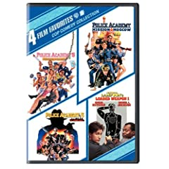 Cop Comedy Collection: 4 Film Favorites