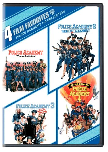Police Academy 1-4 Collection: 4 Film Favorites