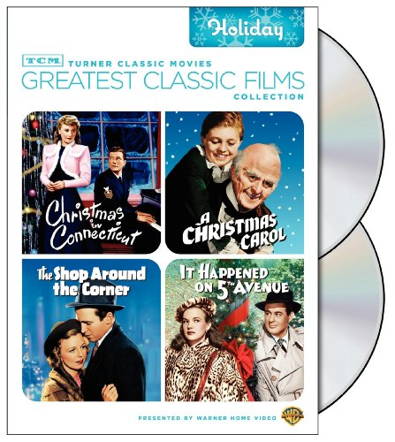TCM Greatest Classic Films Collection: Holiday (Christmas in Connecticut 1945 / A Christmas Carol 1938 / The Shop Around the Corner / It Happened on 5th Avenue)