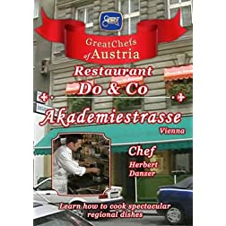 Great Chefs of Austria Chef Herbert Danzer Do & Co Akademiestrasse - Vienna
