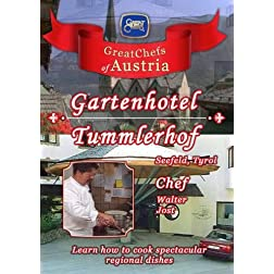 Great Chefs of Austria Chef Walter Jost Gartenhotel Tummlerhof Seefeld - Tyrol