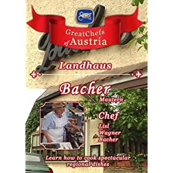 Great Chefs of Austria Chef Lisl Wagner-Bacher Landhaus Bacher - Mautern
