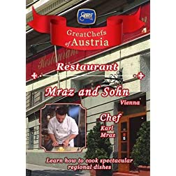 Great Chefs of Austria Chef Karl Mraz Mraz and Sohn - Vienna