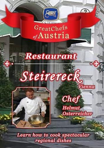 Great Chefs of Austria Chef Helmut Osterreicher Steirereck - Vienna